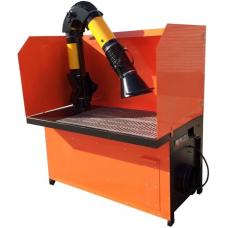 Сварочный стол ССВ 3-4 ВФ,380В, 1400х850х750, 215кг,вентиляция встроенная