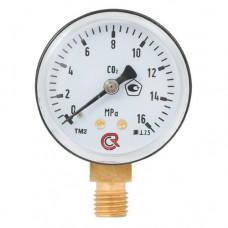 Манометр 16,0 МПа, углекислый газ