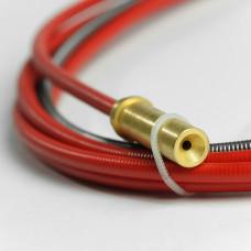 Канал стальной (красный) 0.9-1.2mm, 4.7м (для Kemppi) арт.4188582