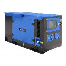 Дизельный генератор ТСС АД-10С-230-1РКМ11 в кожухе