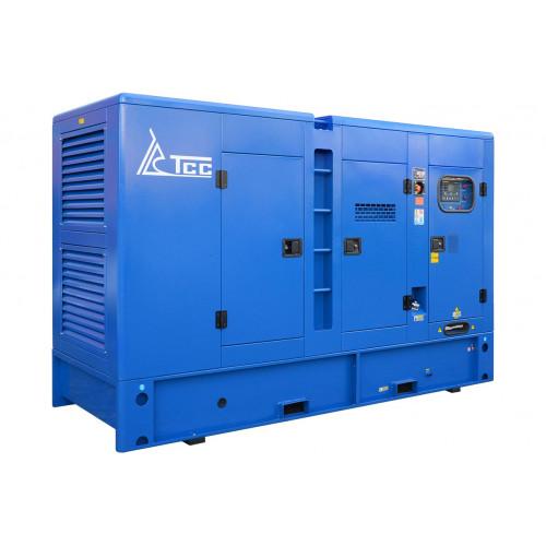 Дизельный генератор ТСС АД-150С-Т400-1РКМ11 в шумозащитном кожухе