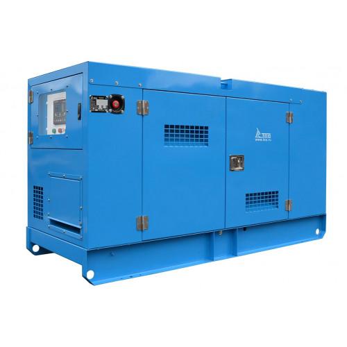 Дизельный генератор ТСС АД-24С-Т400-1РКМ19 в шумозащитном кожухе