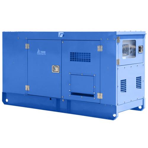 Дизельный генератор ТСС АД-12С-Т400-1РКМ19 в шумозащитном кожухе