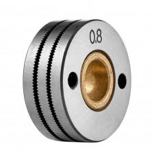 Ролик подающий 30х10х12, 0,8-0,9 мм К (порошковая проволока)