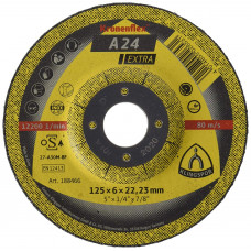 Круг зачистной 125x6.0x22.23 A 24 EXTRA