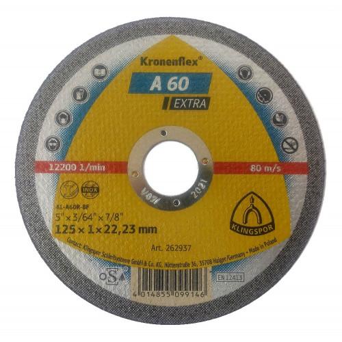 Круг отрезной KT EXTRA A60EX S GER 125X1X22,23