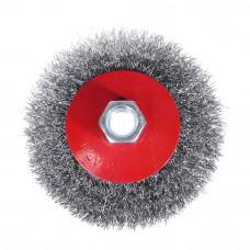 Щетка металлическая для УШМ 100мм/М14 (тарелка)