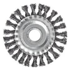 Щетка дисковая для УШМ 125/22 витая ЕРМАК
