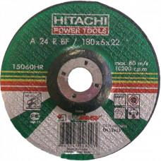 Круг зачистной по металлу 180x6.0x22.23 HITACHI