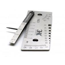 Универсальный шаблон сварщика УШС-3 (с калибровкой)