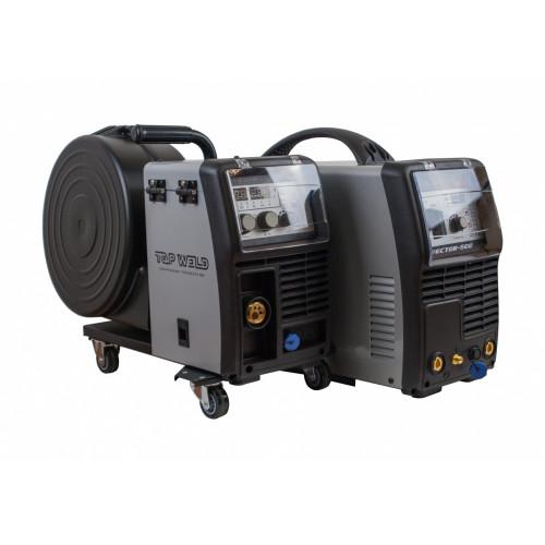 Инвертор полуавтоматической сварки TW Vector-500 (IGBT/ 500A / 380V)
