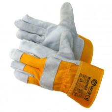 Перчатки спилковые комбинированные Gward Kombi
