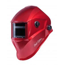Маска сварщика «хамелеон» START-OPTIMA c АСФ 615 (Красный глянец)
