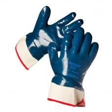 Перчатки нитриловый облив (манжет крага)