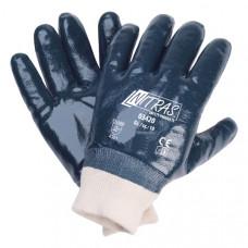 Перчатки нитриловый облив (с манжетой)