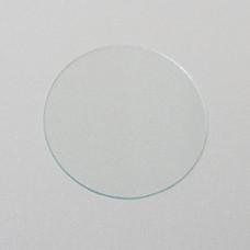 Стекло сварщика прозрачное (d=49,5) круглое